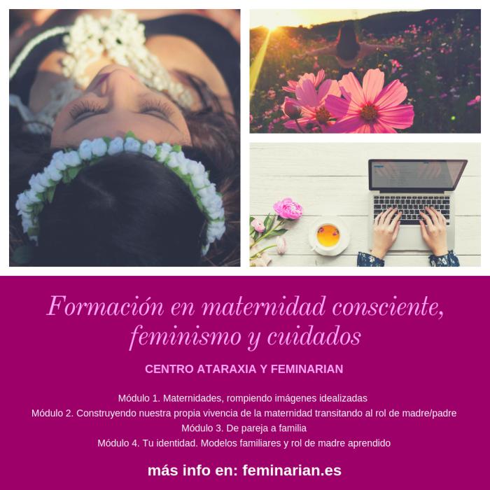Formación en maternidad consciente, feminismo y cuidados